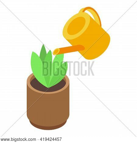Plant Assistant Icon. Isometric Of Plant Assistant Vector Icon For Web Design Isolated On White Back