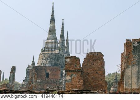 Wat Phra Sri Sanphet Is Another Beautiful Temple And Is Also An Important Religious Tourist Destinat
