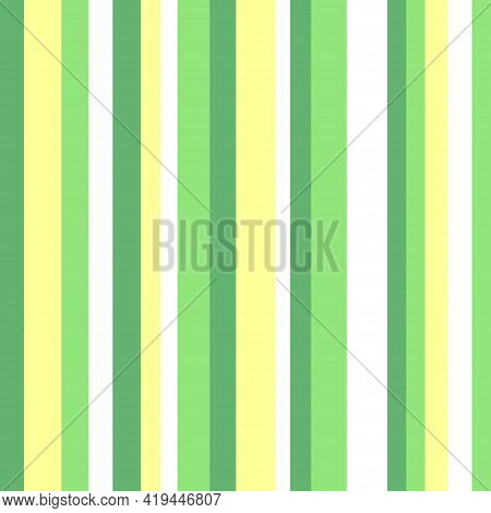 Colorful Stripe Pattern. Colored Background With Many Lines. Seamless Striped Texture. Geometric Wal