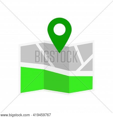 Location Icon. Map Pin Icon Vector. Map Icon. Map Marker Vector. Isolated Vector. Vector Logo. Web L