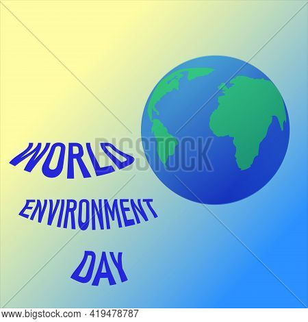 World Environment Day Banner.earth. Poster, Cover, Card, Print Design Environment Day. Eco Poster,ec