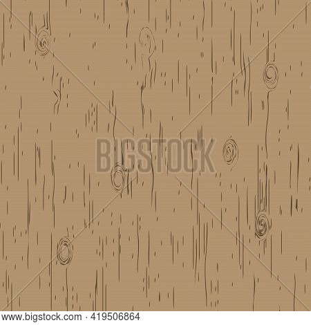 Wood Background. Cutting Board, Wood Grain. Floor Surface. A Sample Of The Surface Of The Board.