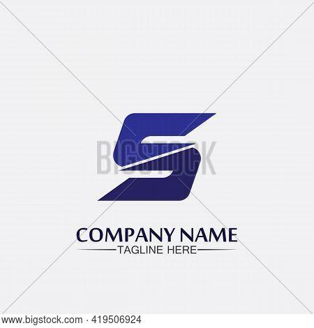 Business Corporate S Letter Logo Design Vector S Logo Font And Alphabet