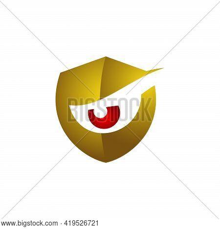 Shield Logo. Eyeshield Logo. Eye Care. Protection Logo. Shield Vector. Shield Illustration. Security