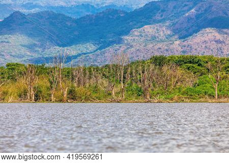 Chamo Lake Natural Biotope, Landscape In The Southern Nations, Nationalities, And Peoples Region Of