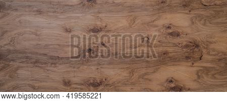 Ordinary Cheap Plywood. Sanded And Toned With Oil. Wooden Background Texture