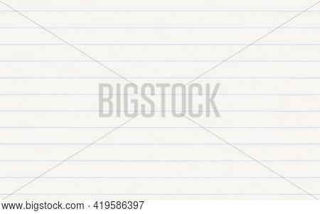Lined Paper Page Background, Real Ruled Paper Texture. Seamless, Tileable Repeat Pattern