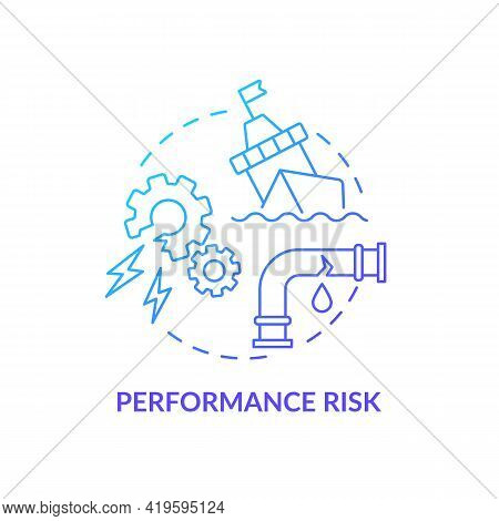 Performance Risk Concept Icon. Purchase Risk Factor Idea Thin Line Illustration. Failure In Products
