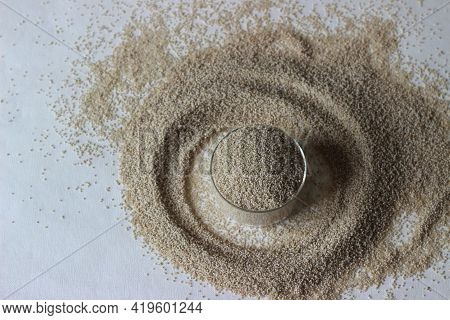 The Little Millet Is One Of The Small Millets, Scientifically Known As Panicum Sumatrense. It Is A L
