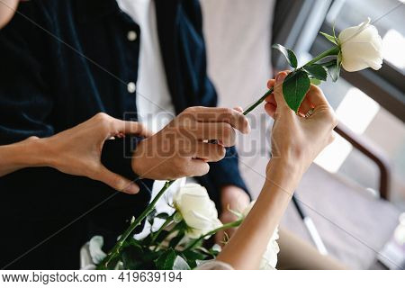 Bride And Groom Holding Hands Person Holding Keys Hands Of The Groom And Bride Beautiful Couples Hol