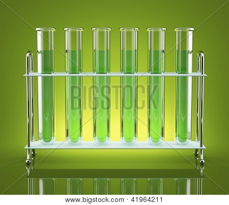 Tubes With Green Chemicals