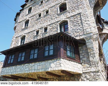 Stanisici, Bijelina, Republika Srpska, Bosnia And Herzegovina April 25 2021 Ethno Village, Tourism A