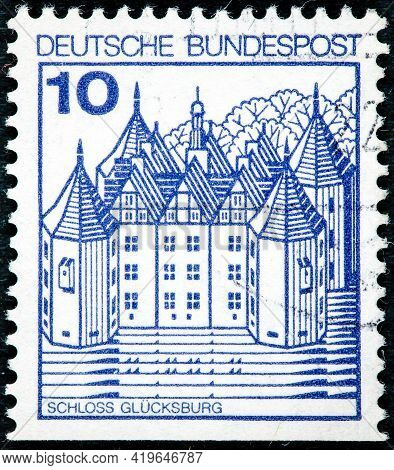 Germany - Circa 1977: Postage Stamp Printed In The Federal Republic Of Germany With The Image Of The