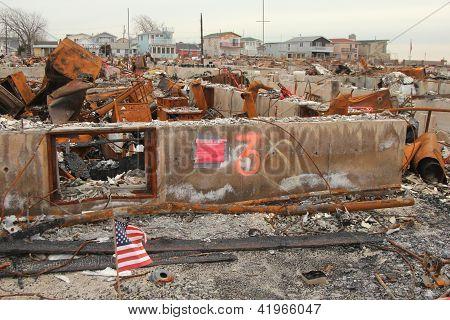 Hurricane Sandy -three months later