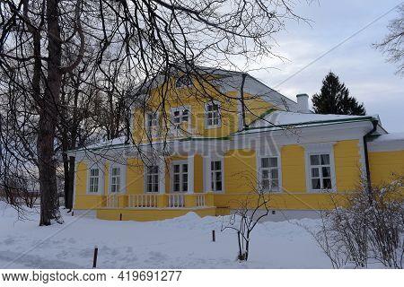 Russia, Boldino 20-12-2019 House Museum Of The Poet Pushkin In Boldino Russia