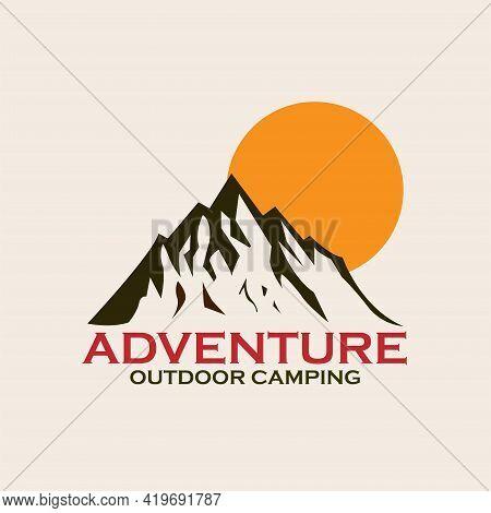 Symbol, Sign, Logo, Vector, Label, Emblem, Element, Badge, Design, Vintage, Nature, Camp, Outdoor, R
