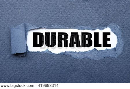 Durable. Torn Paper Paper Background. Abstract Background. Stock Image.
