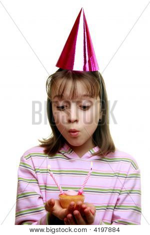 Young Girl Enjoying A Party
