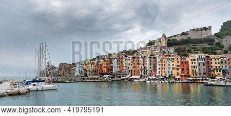 Fisherman Town Of Portovenere, Cinque Terre Liguria, Italy