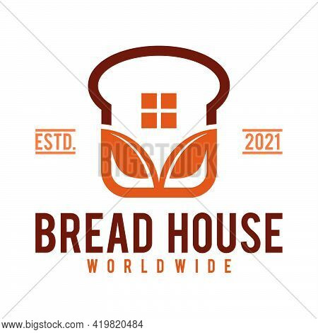 Bakery Bread Logo Template, Bread Shop House\nbread And Bakery Logo Vector Icon Illustration,