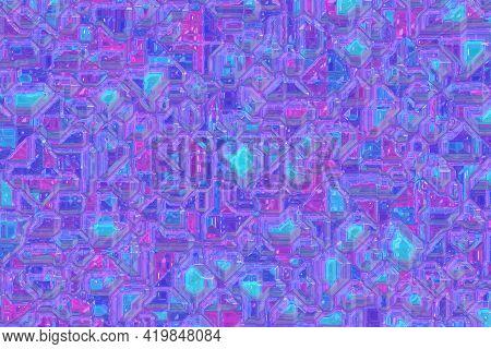Design Cute Optic Vivid Toxic Template Digitally Drawn Backdrop Illustration