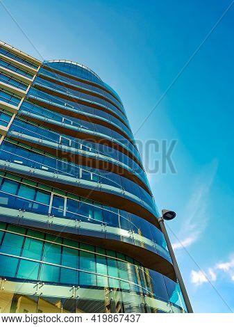 Palazzo Axa Skyscraper At Porta Nuova In Milan, Italy