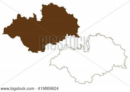 Ludwigslust-parchim District (federal Republic Of Germany, Rural District, State Of Mecklenburg-vorp