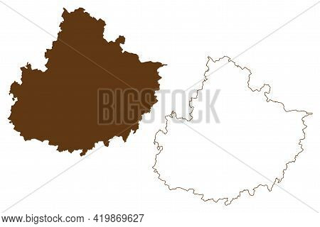 Mecklenburgische Seenplatte District (federal Republic Of Germany, Rural District, State Of Mecklenb