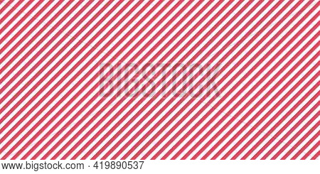 Stripe Diagonal Pattern. Line Background. Seamless Abstract Texture With Many Lines. Geometric Wallp
