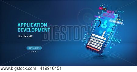 Application, Website, Software Development For Mobile Phone, Smartphone. Create Software And Web Des