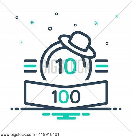 Mix Icon For Points Score Rank Score-board Number