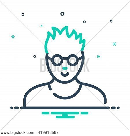 Mix Icon For Smart Clever Slick  Crafty Cunning Leery Devious