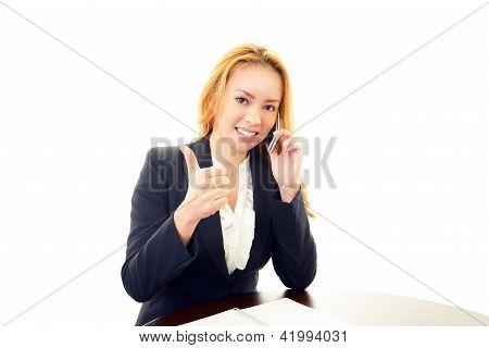 Joy a successful woman