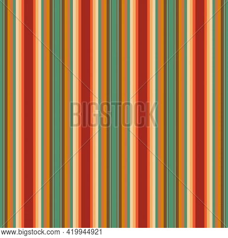 Serape Vector Background. Mexican Rug Seamless Pattern. Traditional Mexican Stripe. Cinco De Mayo Pa
