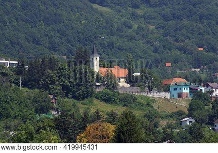 Parish Church of Saint George in Plesivica, Croatia