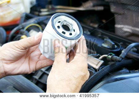 Filtro de aceite del coche