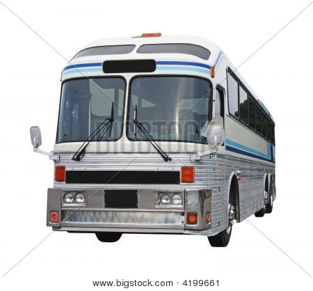 Old Bus With Clipping Path