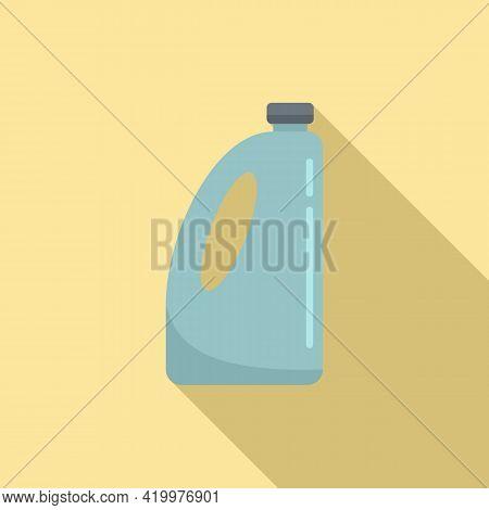 Organic Liquid Fertilizer Icon. Flat Illustration Of Organic Liquid Fertilizer Vector Icon For Web D