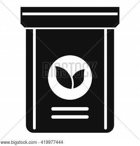 Fertilizer Plant Pack Icon. Simple Illustration Of Fertilizer Plant Pack Vector Icon For Web Design