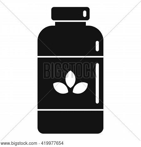 Garbage Fertilizer Icon. Simple Illustration Of Garbage Fertilizer Vector Icon For Web Design Isolat