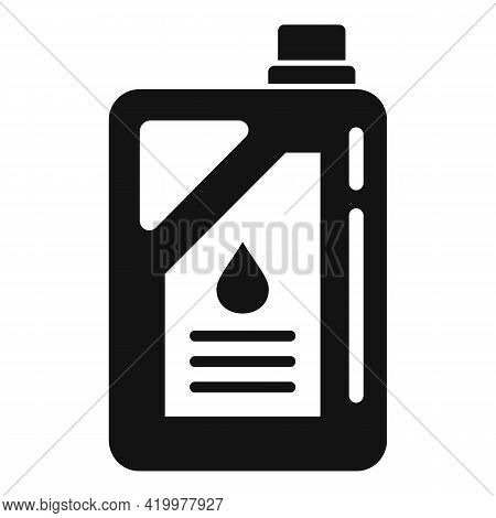 Chemical Fertilizer Canister Icon. Simple Illustration Of Chemical Fertilizer Canister Vector Icon F