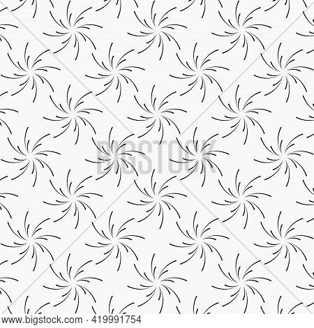Repeated Abstract Blast Simple Flat Pattern Design