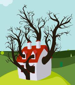 House Tree Grown Inside