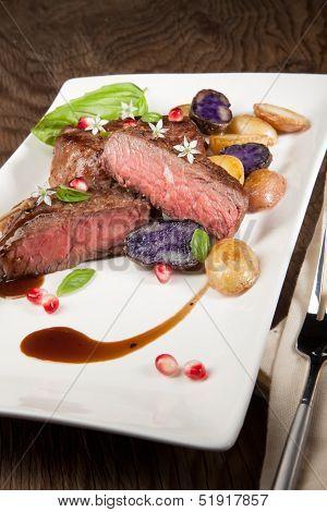 Pan Seared Steak