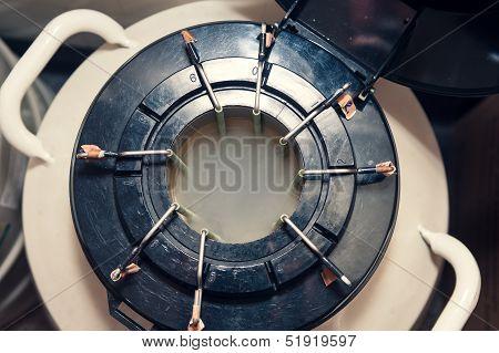Nitrogen Storage Tank With Cold Smoke Inside