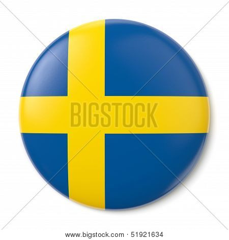 Sweden States Pin-back