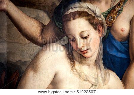 Camilla Tedaldi Painted By Bronzino