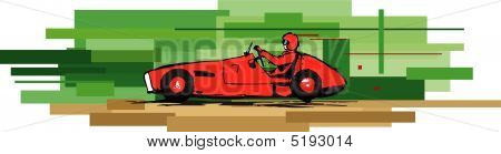 Old Sports Car