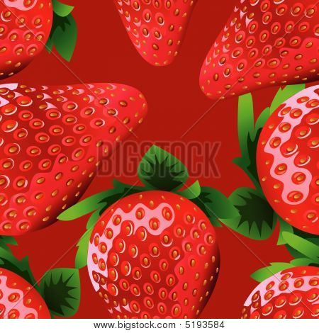seamless Strawberry