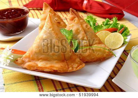 Fried Potato Samosa
